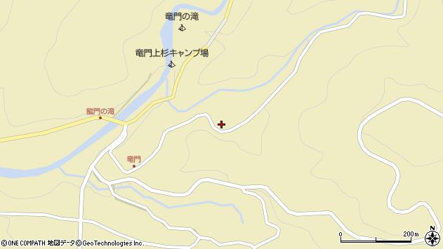 大分県玖珠郡九重町松木3231周辺の地図