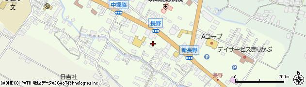 大分県玖珠郡玖珠町塚脇886周辺の地図