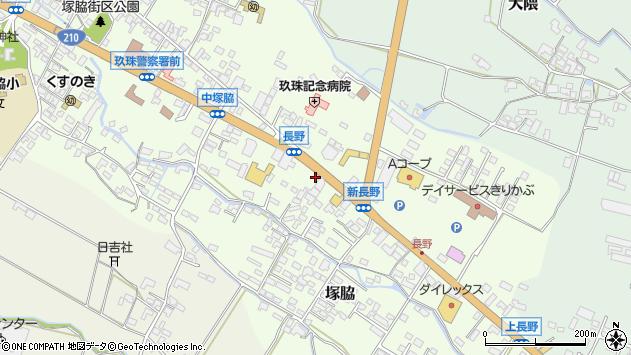 大分県玖珠郡玖珠町塚脇549周辺の地図