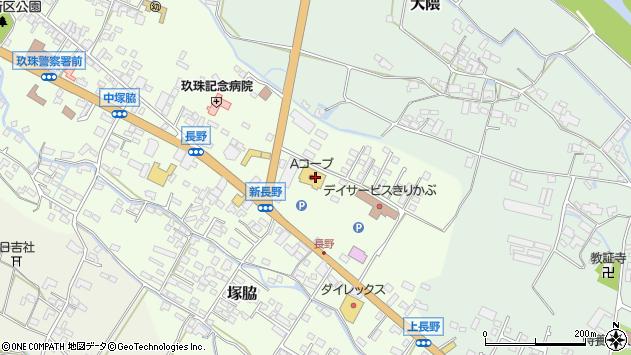大分県玖珠郡玖珠町塚脇652周辺の地図