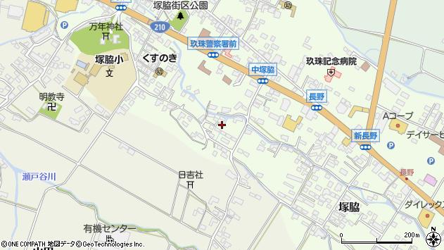 大分県玖珠郡玖珠町塚脇538周辺の地図