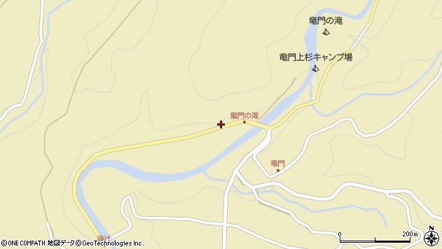 大分県玖珠郡九重町松木1749周辺の地図