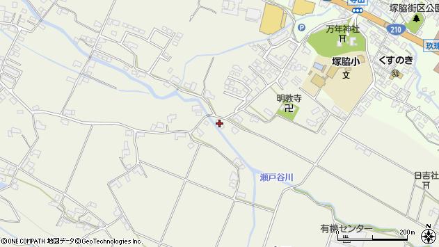 大分県玖珠郡玖珠町山田412周辺の地図