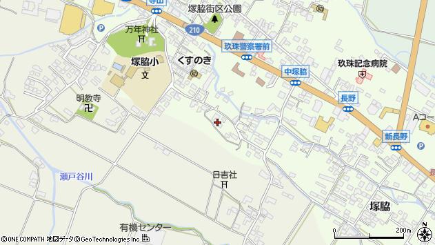 大分県玖珠郡玖珠町塚脇506周辺の地図