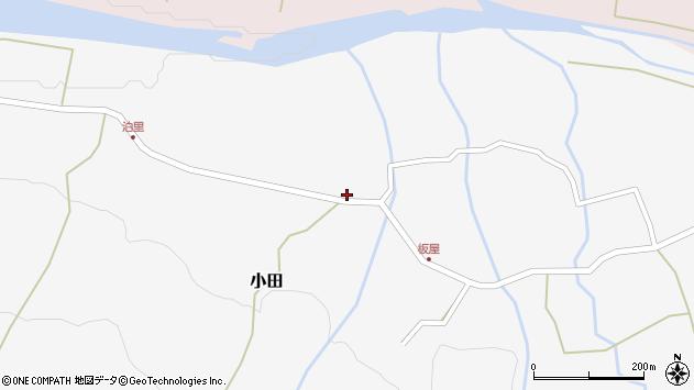 大分県玖珠郡玖珠町小田1965周辺の地図