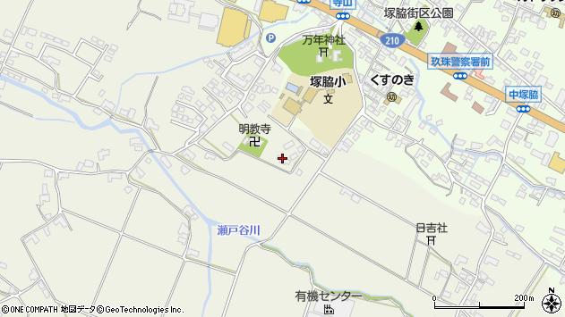 大分県玖珠郡玖珠町山田346周辺の地図