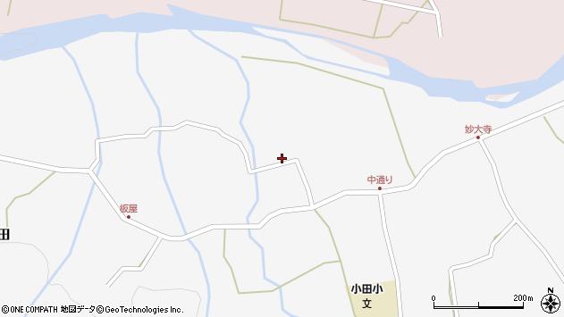 大分県玖珠郡玖珠町小田854周辺の地図