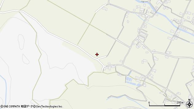 大分県玖珠郡玖珠町山田2192周辺の地図