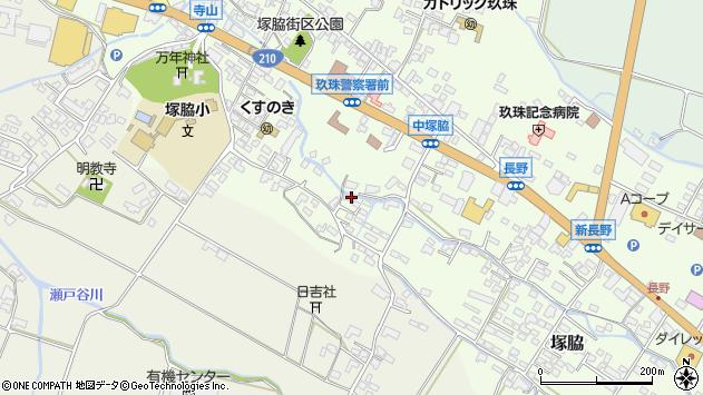 大分県玖珠郡玖珠町塚脇537周辺の地図