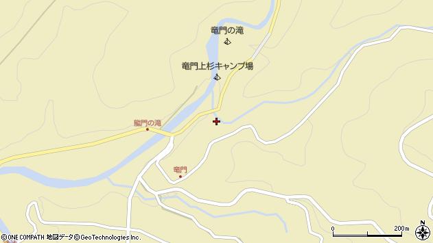 大分県玖珠郡九重町松木3169周辺の地図