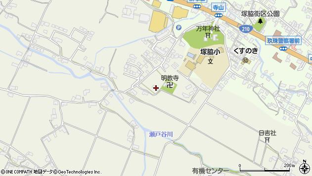 大分県玖珠郡玖珠町山田391周辺の地図