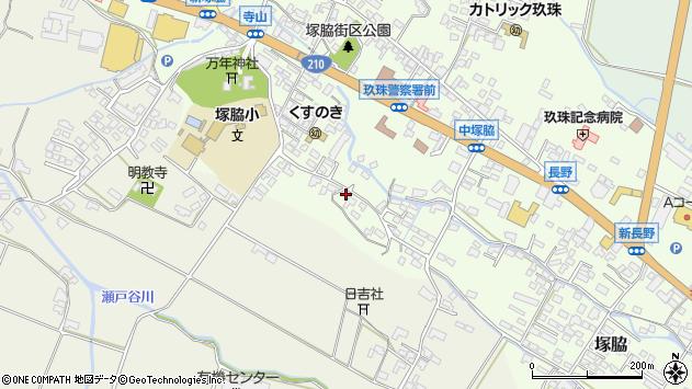 大分県玖珠郡玖珠町塚脇503周辺の地図