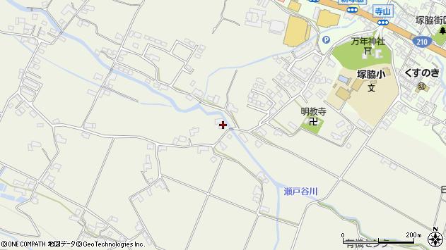大分県玖珠郡玖珠町山田1935周辺の地図