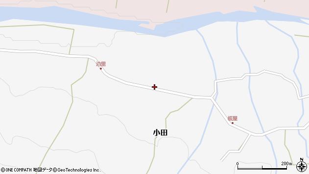 大分県玖珠郡玖珠町小田1962周辺の地図