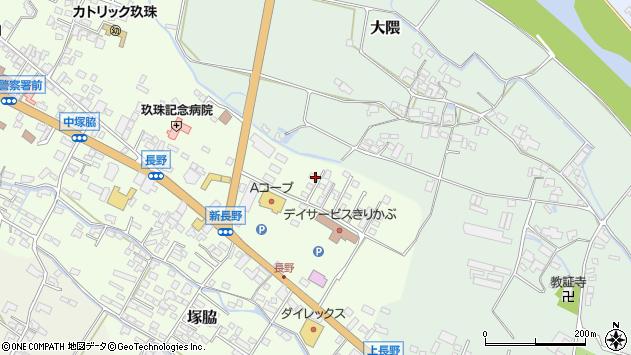 大分県玖珠郡玖珠町塚脇666周辺の地図