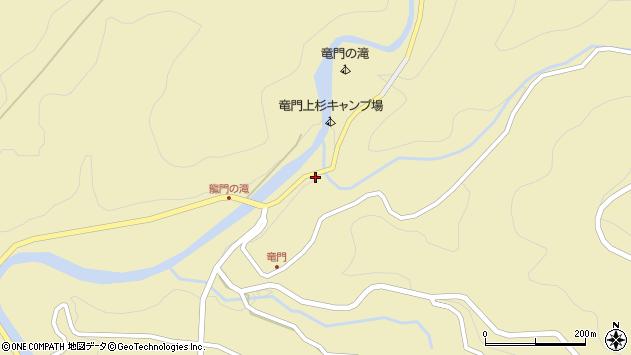 大分県玖珠郡九重町松木3168周辺の地図