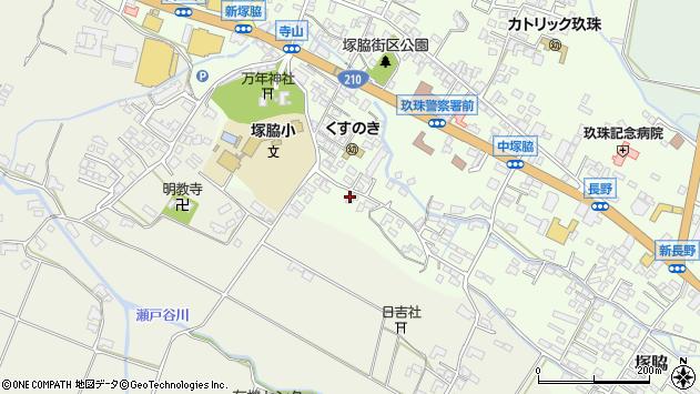 大分県玖珠郡玖珠町塚脇257周辺の地図
