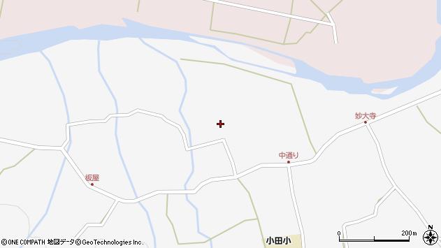 大分県玖珠郡玖珠町小田849周辺の地図