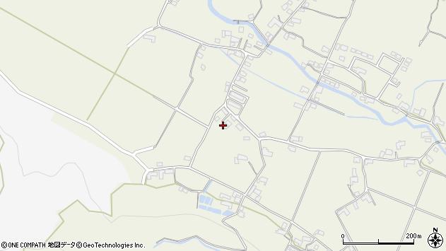 大分県玖珠郡玖珠町山田2223周辺の地図
