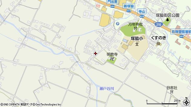 大分県玖珠郡玖珠町山田380周辺の地図