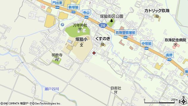 大分県玖珠郡玖珠町塚脇248周辺の地図