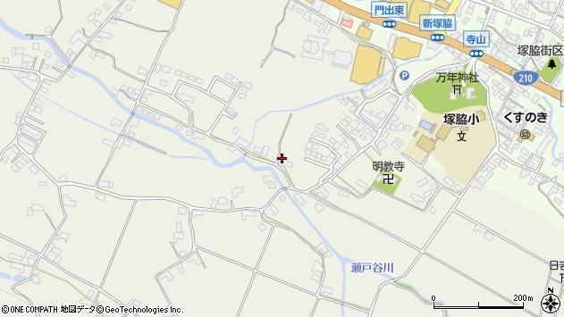 大分県玖珠郡玖珠町山田375周辺の地図