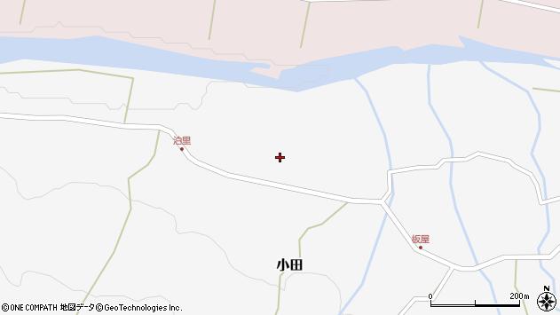 大分県玖珠郡玖珠町小田1981周辺の地図