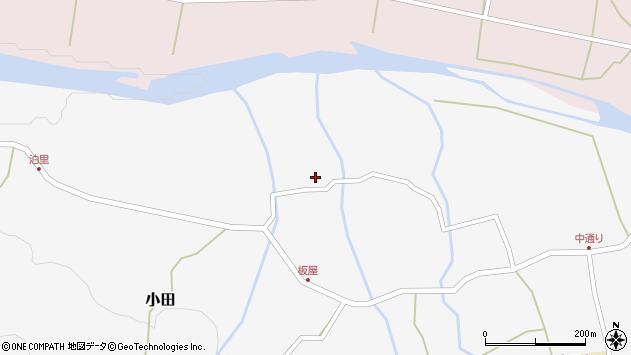 大分県玖珠郡玖珠町小田1680周辺の地図