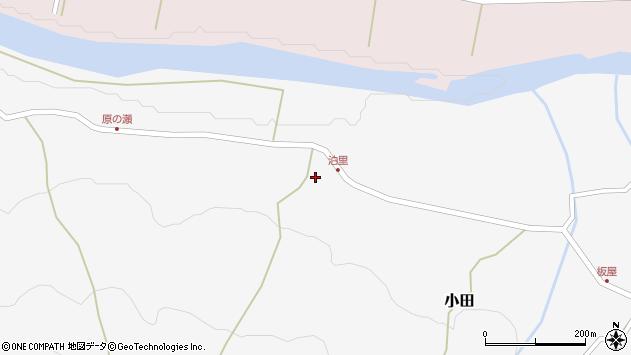 大分県玖珠郡玖珠町小田2085周辺の地図