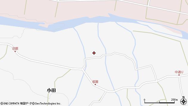 大分県玖珠郡玖珠町小田1678周辺の地図