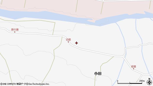 大分県玖珠郡玖珠町小田2072周辺の地図