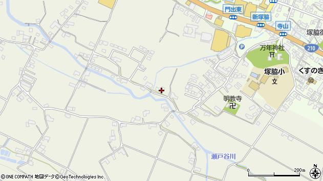 大分県玖珠郡玖珠町山田371周辺の地図