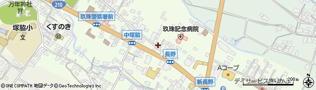 大分県玖珠郡玖珠町塚脇442周辺の地図
