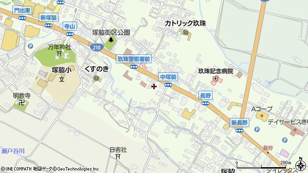 大分県玖珠郡玖珠町塚脇456周辺の地図