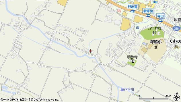 大分県玖珠郡玖珠町山田373周辺の地図