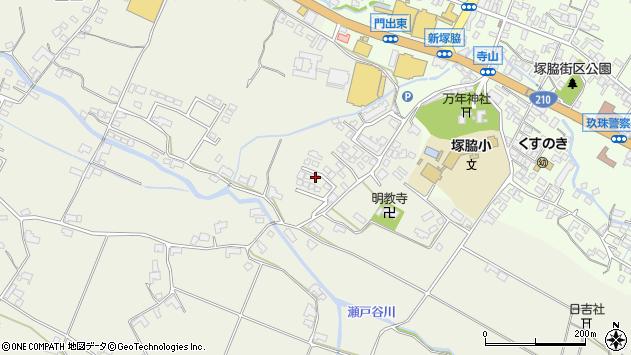 大分県玖珠郡玖珠町山田377周辺の地図