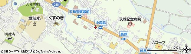 大分県玖珠郡玖珠町塚脇455周辺の地図