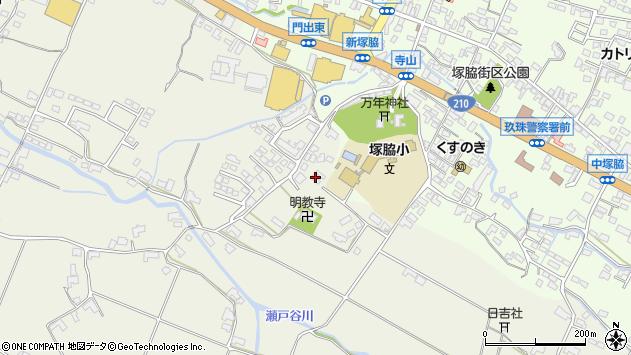 大分県玖珠郡玖珠町山田336周辺の地図