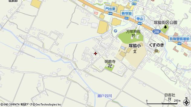 大分県玖珠郡玖珠町山田379周辺の地図