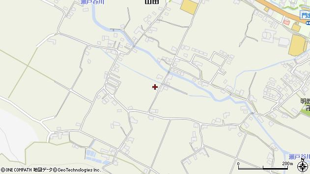 大分県玖珠郡玖珠町山田2238周辺の地図