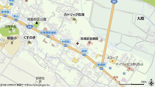 大分県玖珠郡玖珠町塚脇441周辺の地図