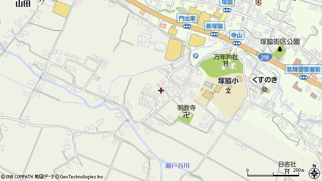 大分県玖珠郡玖珠町山田365周辺の地図