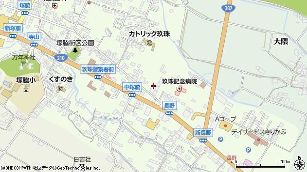 大分県玖珠郡玖珠町塚脇438周辺の地図