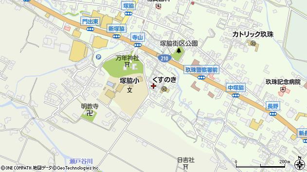 大分県玖珠郡玖珠町塚脇480周辺の地図