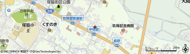 大分県玖珠郡玖珠町塚脇458周辺の地図