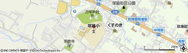 大分県玖珠郡玖珠町塚脇198周辺の地図