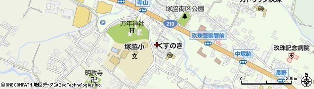 大分県玖珠郡玖珠町塚脇264周辺の地図