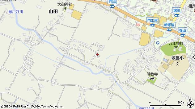 大分県玖珠郡玖珠町山田306周辺の地図
