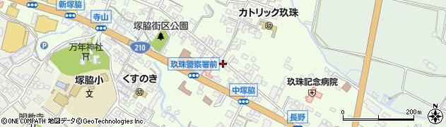大分県玖珠郡玖珠町塚脇460周辺の地図
