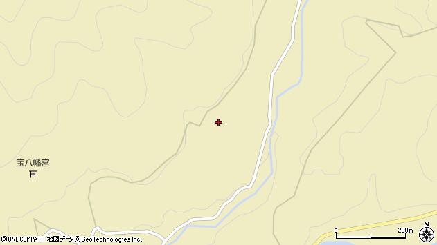 大分県玖珠郡九重町松木丸塚周辺の地図
